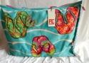 PE FLORENCE Shopper Strandtasche Badetasche Flipflop & Embellishment NEU 9629