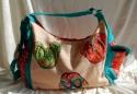 PE FLORENCE Shopper Strandtasche Badetasche Flipflop & Embellish sand NEU 9631