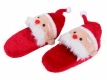 Weihnachtshausschuhe Unisex Puschen Nikolaus Gr 38-44