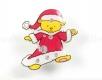 Weihnachtsanstecker - Blinki